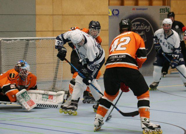 Skating Bears starten mit 11:7- Sieg(6:1/2:4/3:2) gegen die Sauerland Steel Bulls in die Saison