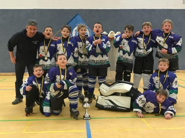 Bambini belegen 2. Platz beim Mini Eagle Cup
