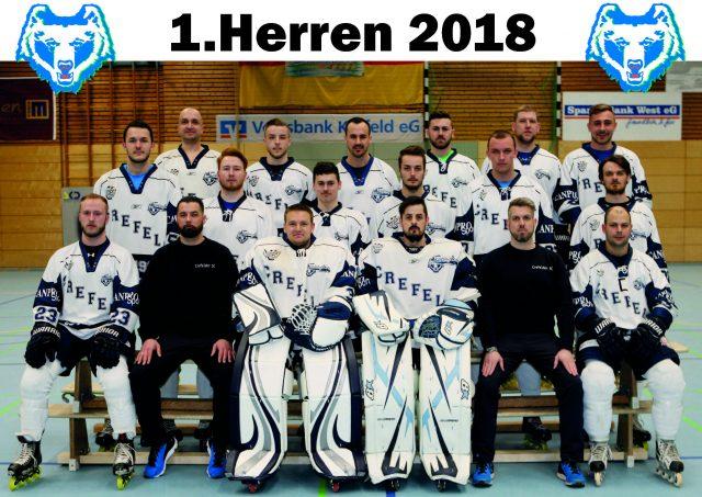 Skating Bears mit Kantersieg gegen Commanders Velbert 18:0 (1:0/12:0/5:0)