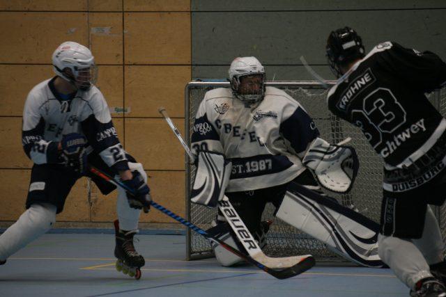 Skating Bears gewinnen auch gegen Duisburg Ducks 10:5 (4:0/3:4/3:1)