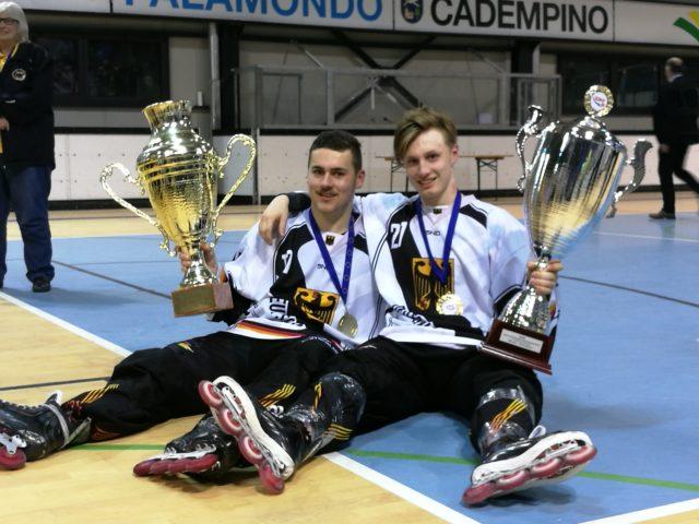 Alexander Scheuß und Niklas Kleindienst werden Europameister mit der U19Nationalmannschaft