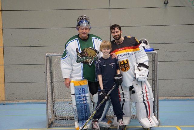 Drei Generationen bei den Skating Bears – Happy Birthday Wolfgang Römer