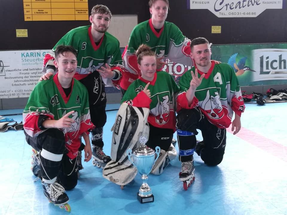 6 Bären gewinnen den U19 Länderpokal