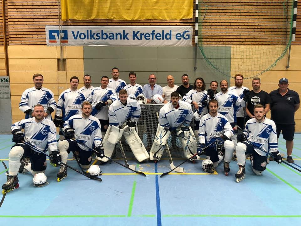 Kineto als Sponsor unseres Bundesligateams