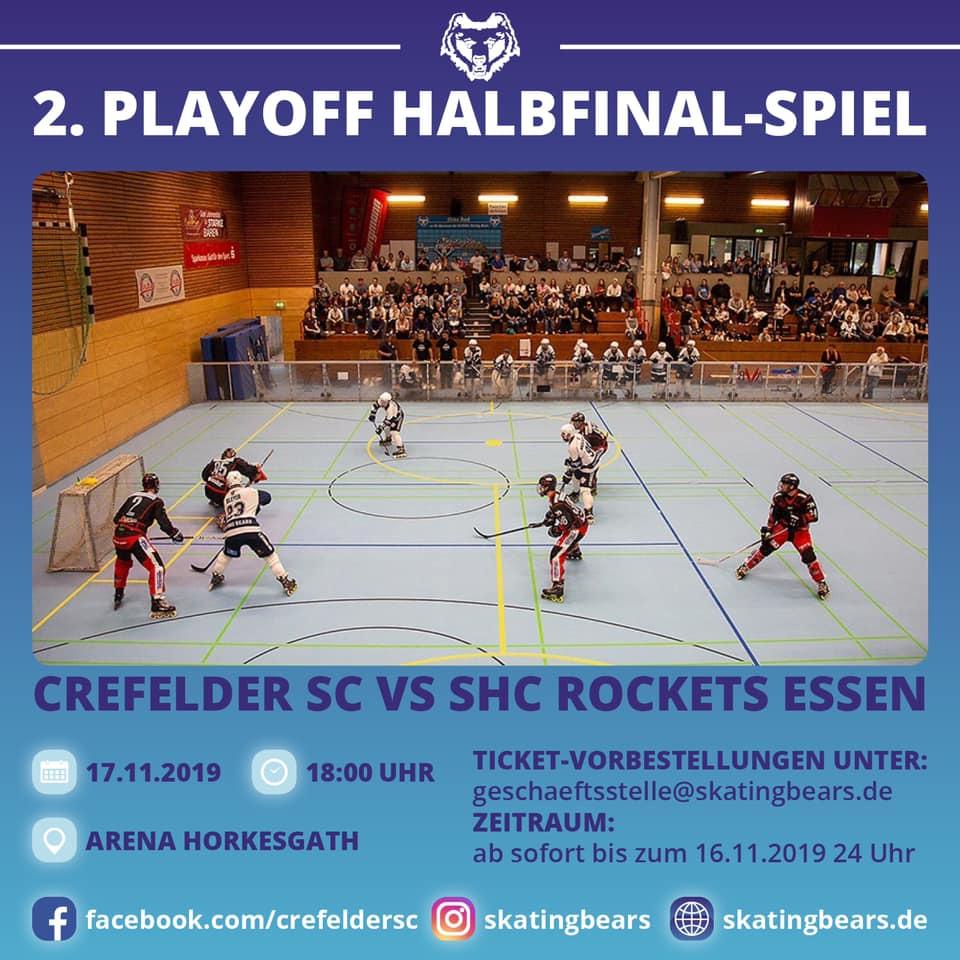 2. Halbfinale vs. SHC Rockets Essen